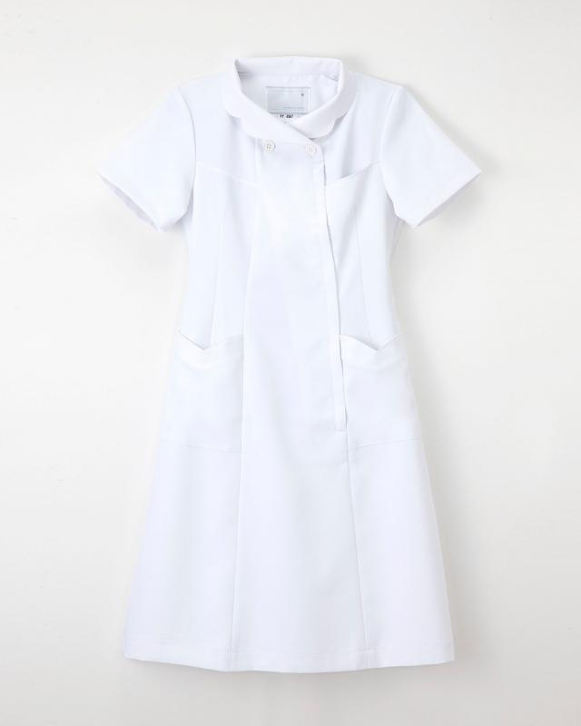 【ナガイレーベン・白衣】FY-4587【ナースウェア・ワンピース】