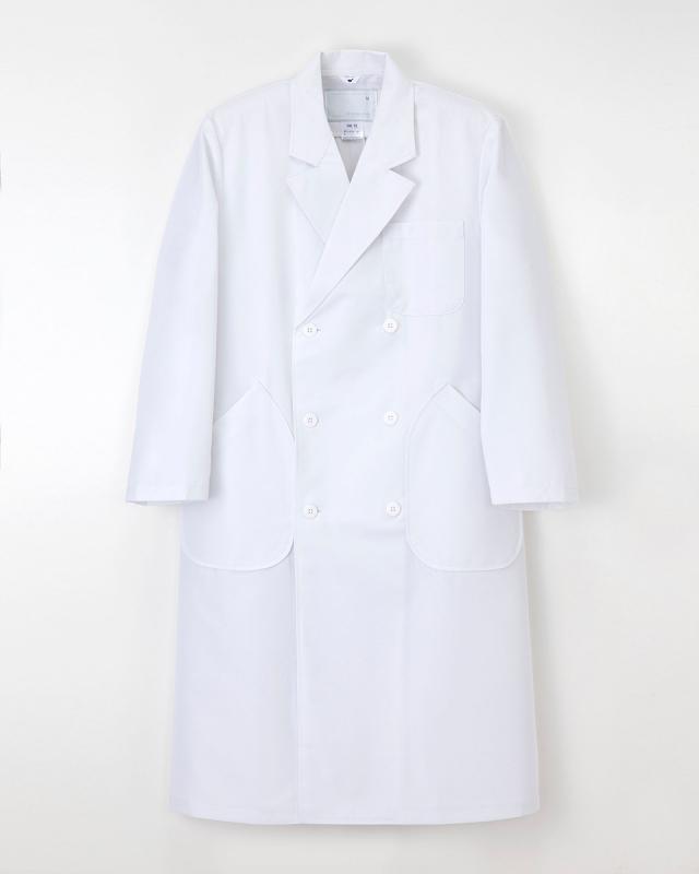 【ナガイレーベン】HK-10【メンズ白衣・男子ダブル診察衣】