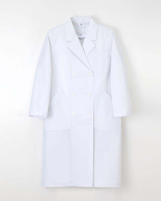 【ナガイレーベン】HK-12【白衣・ダブル診察衣】★ドラマ「DOCTORS3 最強の名医」使用★