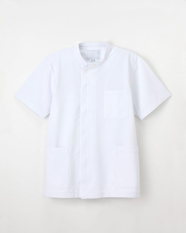 【ナガイレーベン】HO-1987【メンズ白衣・上衣・半袖】