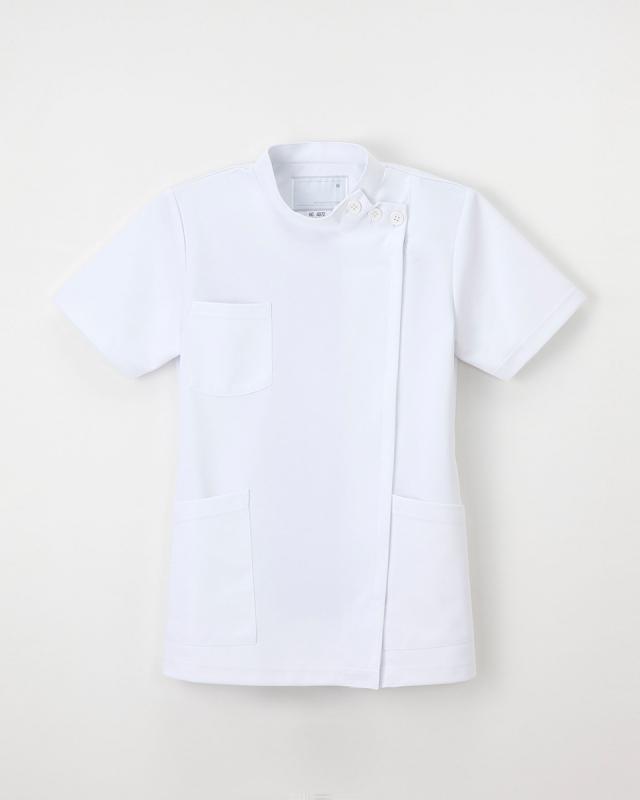 【ナガイレーベン】HO-4972【白衣・KC・ケーシー・半袖ナースウェア】