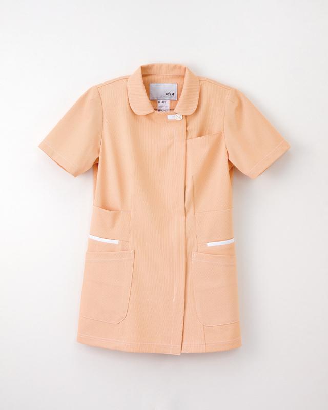 【ナガイレーベン】LX-4012【レディース半袖上衣・白衣・ナースウェア】☆2015年新作商品
