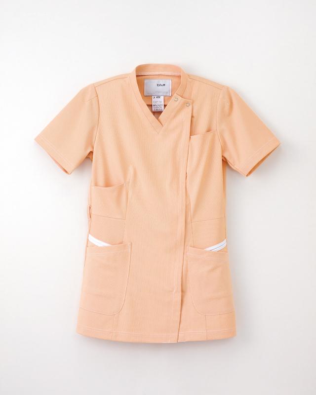 【ナガイレーベン】LX-4052【レディーススクラブスタイル上衣・白衣・ナースウェア】☆2015年新作商品