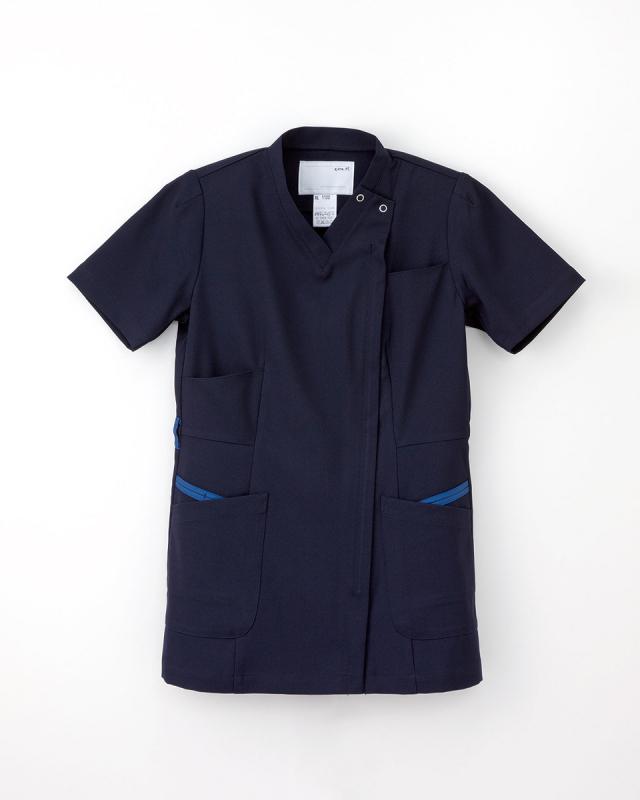 【ナガイレーベン】ML-1122【レディーススクラブスタイル上衣・白衣・ナースウェア】☆2015年新作商品