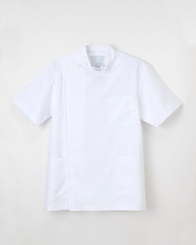 【ナガイレーベン】MT-2257【メンズ白衣・男子KC・半袖】★ドラマ「フラジャイル」使用★