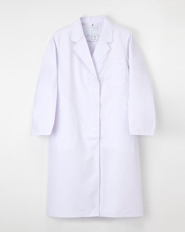 【ナガイレーベン】NP-130【白衣・女子シングル診察衣】