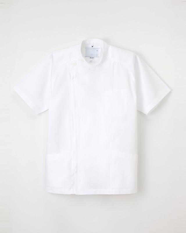 【ナガイレーベン】PUT-3577【メンズ白衣・KC・半袖】