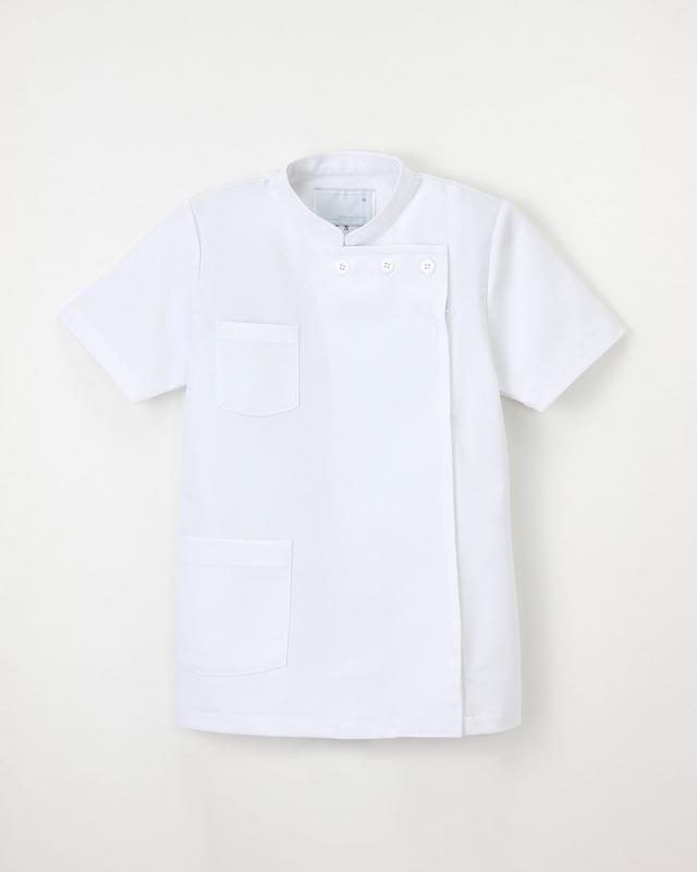 【ナガイレーベン】US-72【白衣・KC・半袖】