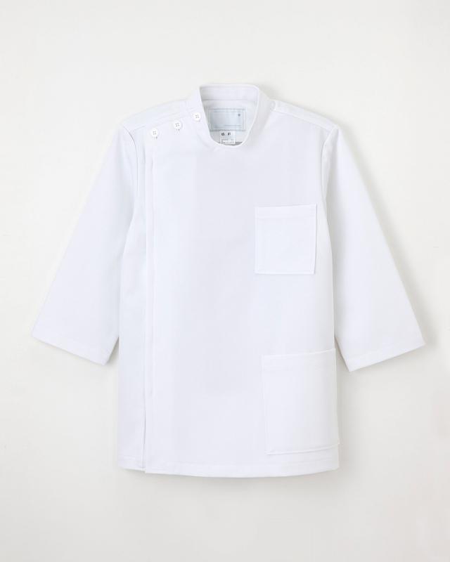 【ナガイレーベン】US-81【メンズ白衣・男子KC・8分袖】