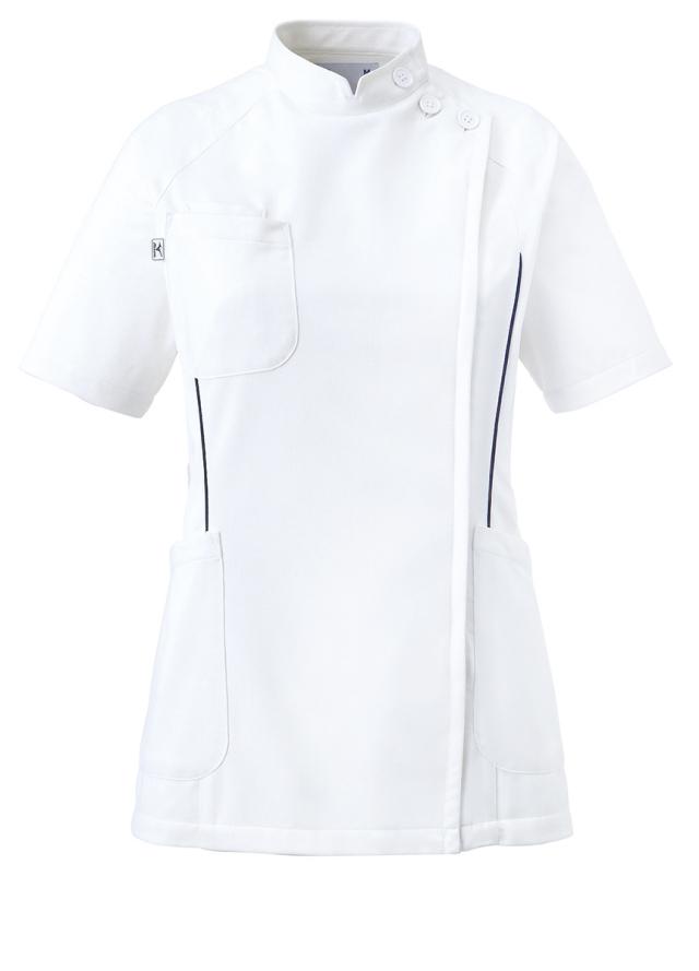 【unite×ミズノ】MZ-0048【ケーシージャケット・KC・白衣・半袖上衣・Dynamotion Fit】