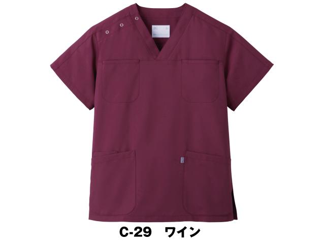 【unite×ミズノ】MZ-0051【ジャケット(男女兼用)・白衣・半袖スクラブ】