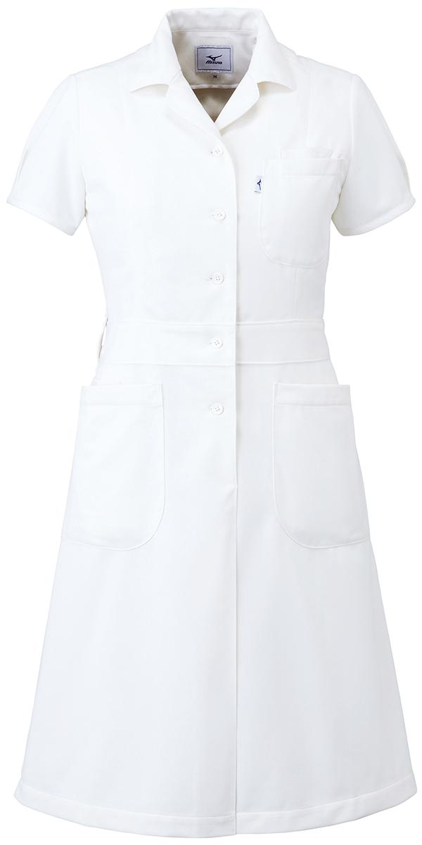 【unite×ミズノ】MZ-0067【ワンピース・白衣・看護衣・Dynamotion Fit】