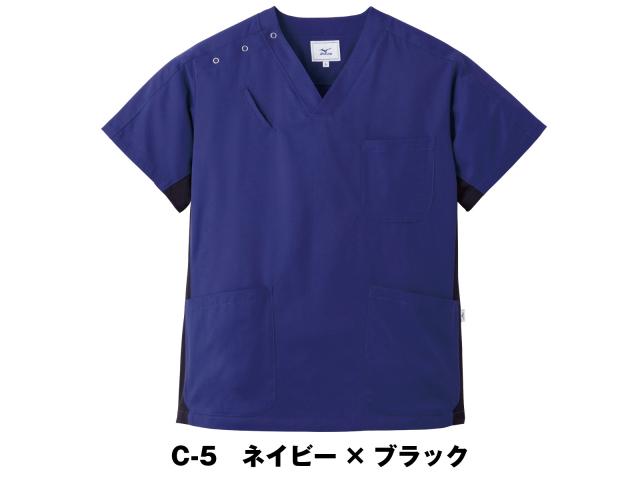 【unite×ミズノ】MZ-0073【ジャケット(男女兼用)・白衣・半袖スクラブ】