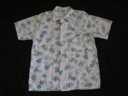 50'S JEFFERSON アトミックプリントシャツ
