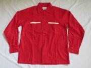 50'S Pilgrim ドット柄ネルシャツ DEAD STOCK