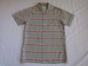 50'S Btayard ボーダーレーヨンシャツ