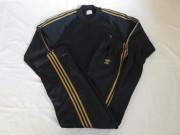 80'S アディダス Black&Gold ジャージSET UP