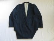 80'S MADE IN ENGLAND BlueXBlackスーツ
