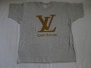 80'S LOUIS VUITTON ブートレグTシャツ Gray