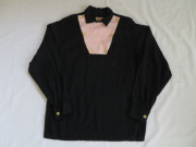 50'S Wings Black&Pinkギャバジンシャツ