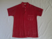 50'S Custom Quality Redラメシャツ