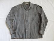 50'S California チェックコットンシャツ