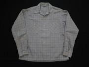 50'S harper チェックコットンシャツ