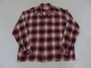 50'S Branbrook シャドーチェックレーヨンシャツ