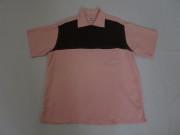50'S MARK TWAIN PinkXBrown プルオーバーシャツ