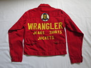50'S Wrangler 12MJ Red Champion Jacket