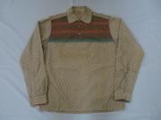 50'S Old Kentucky プルオーバープリントネルシャツ