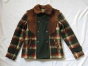 30'S ボア&チェック Sports coat