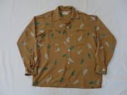 50'S Hallmark アトミックレーヨンシャツ