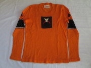 70'S the Ritva man sweater orange