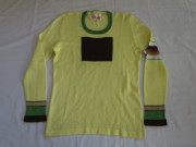 70'S the Ritva man sweater yellow