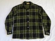 50'S Bruce Bary チェックウールシャツ
