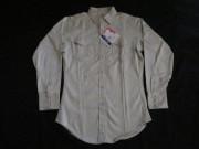 60'S Wrangler ホワイトサテンシャツ DEAD STOCK