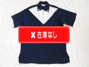 50'S royal palm NavyXWhite切り替えプルオーバーシャツ