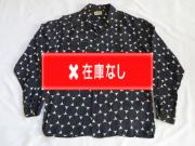 50'S guymont ドット柄レーヨンシャツ
