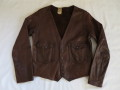 60'S Leather Engineer jacket
