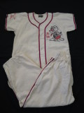 60'S Baseball Shirt&Pants Set
