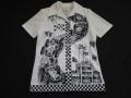 70'S カーレースプリントシャツ