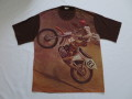 70'S モトクロスピクチャープリントTシャツ