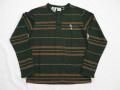 70'S Kennington ミッキー刺繍ボーダーL/S Tシャツ DEAD STOCK