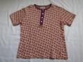 70'S ジャガード織Tシャツ チョウ
