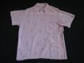 50'S Cassino PinkXBlack ピーターパンシャツ
