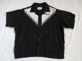 50'S King Louie ボウリングシャツ Black