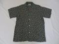 50'S ARROW ドットプリントレーヨンシャツ