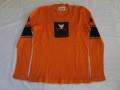 70'S the Ritva man sweater orange