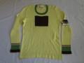 70'S the Ritva man sweater yellow